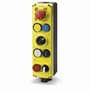 boîte à boutons à 8 boutons / IP54 / pour ascenseur