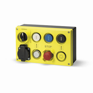 boîte à boutons à 7 boutons / IP65 / pour ascenseur