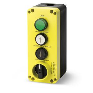 boîte à boutons à 3 boutons / IP65 / pour ascenseur