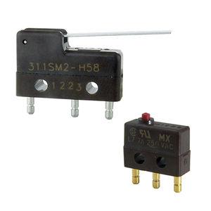interrupteur à levier / unipolaire / on/off / électromécanique