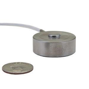 capteur de force en compression / type bouton / miniature