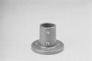 connecteur de tube rond / d'aluminium / en alliage / appui sol