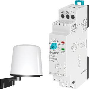 interrupteur crépusculaire sur rail DIN
