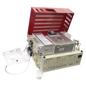 analyseur par chromatographie en phase gazeuse / de gaz / d'eau / d'huile
