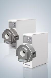 pompe de laboratoire / pour produits chimiques / à moteur DC / péristaltique