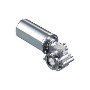motoréducteur DC / à train d'engrenages / orthogonal / 24V