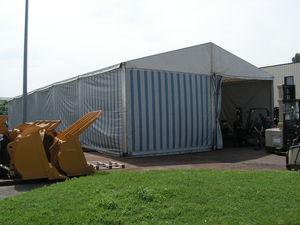 bâtiment de stockage