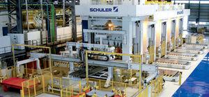 ligne de presses mécanique / d'emboutissage / de production / transfert