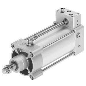 actionneur avec électronique intégrée / linéaire / pneumatique / double effet