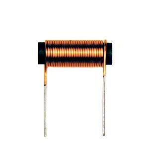 self de choc bobinée / noyau de fer / pour l'électronique