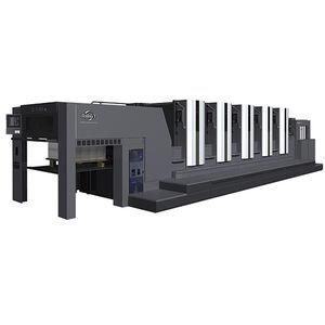 presse offset feuille à feuille / moyen format / par voie humide / à 5 couleurs