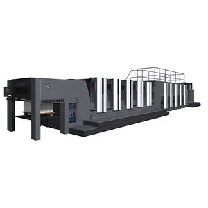 presse offset feuille à feuille / moyen format / par voie humide / à 8 couleurs