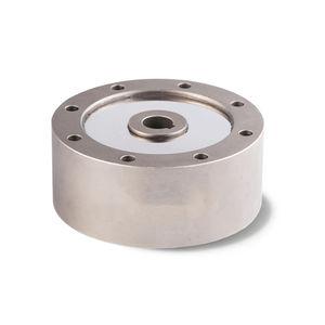 capteur de force en compression / type pancake / en acier / percé