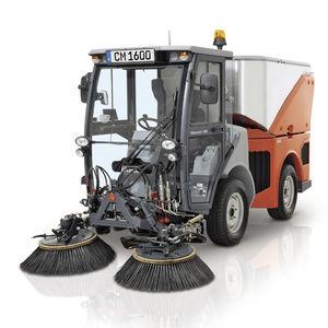 balayeuse de voirie / diesel / compacte / multifonction