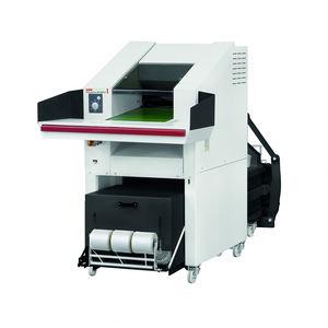 broyeur compacteur à couteaux / horizontal / pour matières plastiques / pour papier