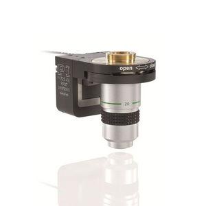 platine de positionnement Z / piézoélectrique / de haute précision / pour objectif de microscope