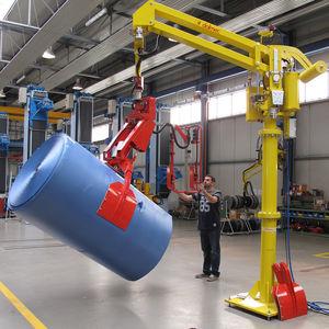 manipulateur pneumatique / avec prise / pour manutention de bobines / de bobine