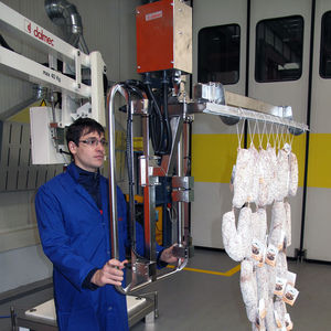 manipulateur pneumatique / avec crochet / de manutention / pour produits alimentaires