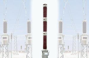 transformateur de courant / encapsulé / au sol / de tension capacitif