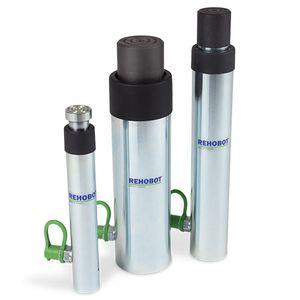 vérin hydraulique / à simple effet / à piston / pour environnements sévères