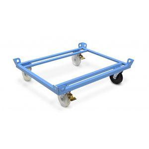 chariot de transport / en acier / à étagères / polyvalent