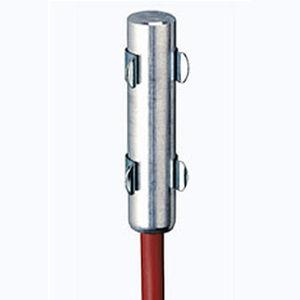 résistance chauffante PTC à semi-conducteur / ronde / en aluminium / pour armoire électrique