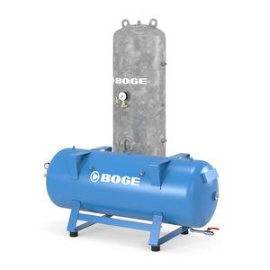 réservoir tampon / de protection / pour air comprimé / en métal