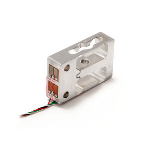 capteur de force en traction compression / type poutre / compact / en acier inoxydable