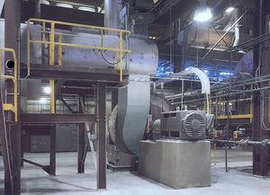 broyeur à impact / horizontal / de produits alimentaires / pour biomasse