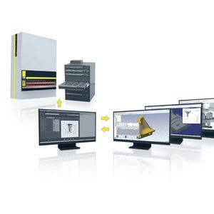 logiciel de simulation / de FAO / pour la gestion des outillages / d'interface