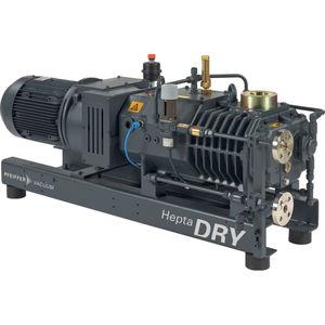 pompe à vide à vis / sèche / mono-étagée / refroidie par eau