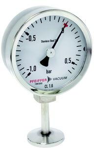 manomètre à cadran / à tube de Bourdon / de process / résistant à la corrosion