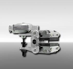 étrier de frein à disque / à desserrage pneumatique / serrage à ressort