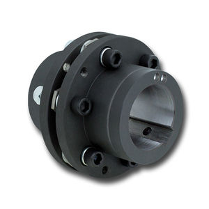 accouplement à disque / rigide en torsion / pour arbre de transmission / de pompe