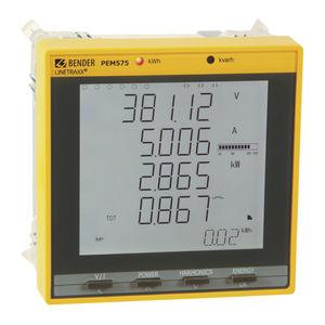 appareil de mesure de réseau électrique / de qualité d'énergie / de courant AC / de tension