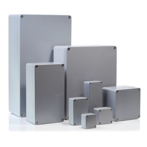 boîtier en aluminium