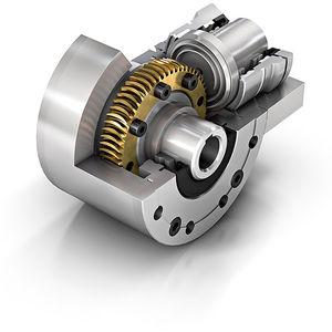 réducteur à couple spiroconique / de précision / pour applications industrielles