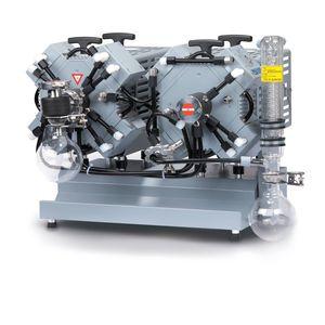 pompe à vide à membrane / lubrifiée / mono-étagée / compacte