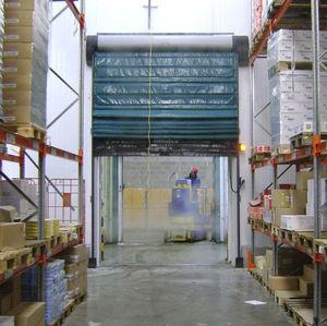 portes à empilement / en acier / pour l'intérieur / pour chambres froides