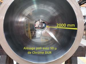 chromage dur / mince / de l'acier / du cuivre