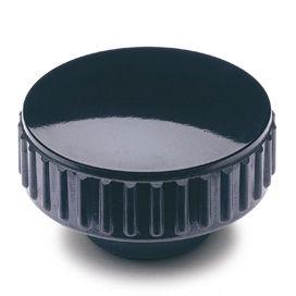 écrou moleté / en acier / en plastique