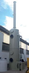 laveur de gaz à voie humide