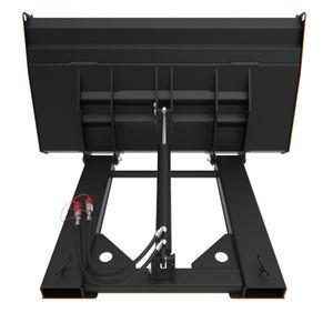 godet standard / pour chariot élévateur / pour matériau léger / grand volume
