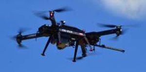 drone octorotor / de surveillance / pour la photogrammétrie / de détection de gaz