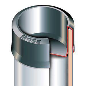 capuchon rond / en polyéthylène basse densité PEBD / pour hautes températures