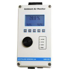 moniteur d'oxygène / de qualité de l'air intérieur / électrochimique / mural
