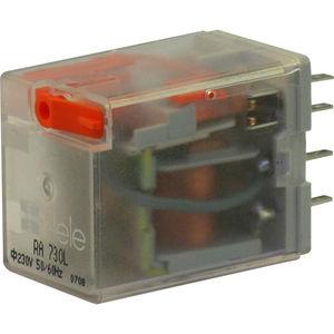 relais électromécanique DC / AC / 2NO/NF / monostable