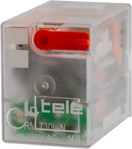 relais électromécanique DC / AC / 4NO/NF / embrochable