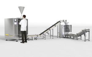 ensacheuse verticale / V-FFS / stick pack / pour l'industrie agroalimentaire