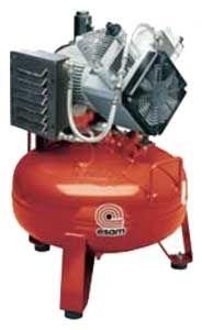 compresseur d'air / portable / à moteur électrique / à piston
